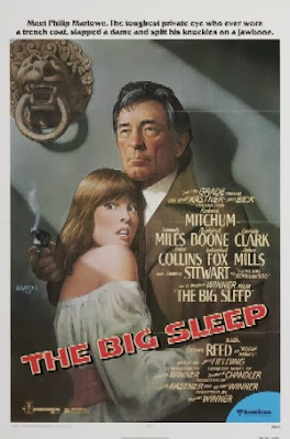 The Big Sleep (released in 1978) - Starring Robert Mitchum, Sarah Miles, Candy Clark and Joan Collins