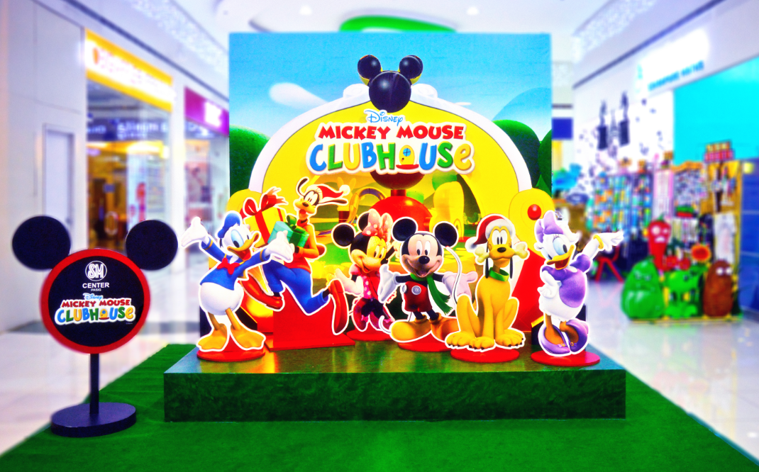 sm supermalls - Mickey Mouse Clubhouse Christmas