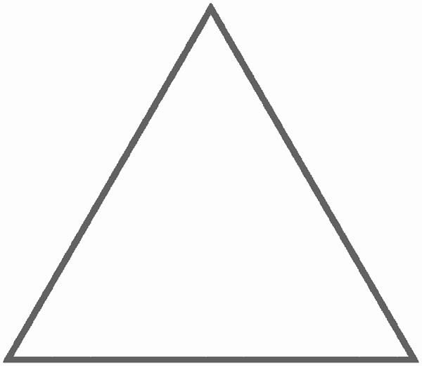 how to find vv and vh of triangle