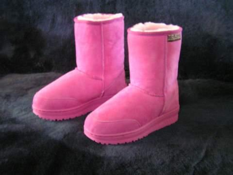 But I don't have a pair of PINK UGGS. That would be awesome, but unfortunately they don't sell those where I live.