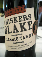 Label photo of Hardys Whisker's Blake Tawny