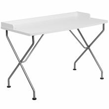 Modern White Computer Desk