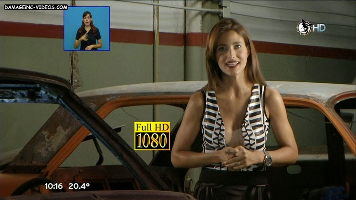 Alejandra Martinez hot cleavage full HD damageinc-videos