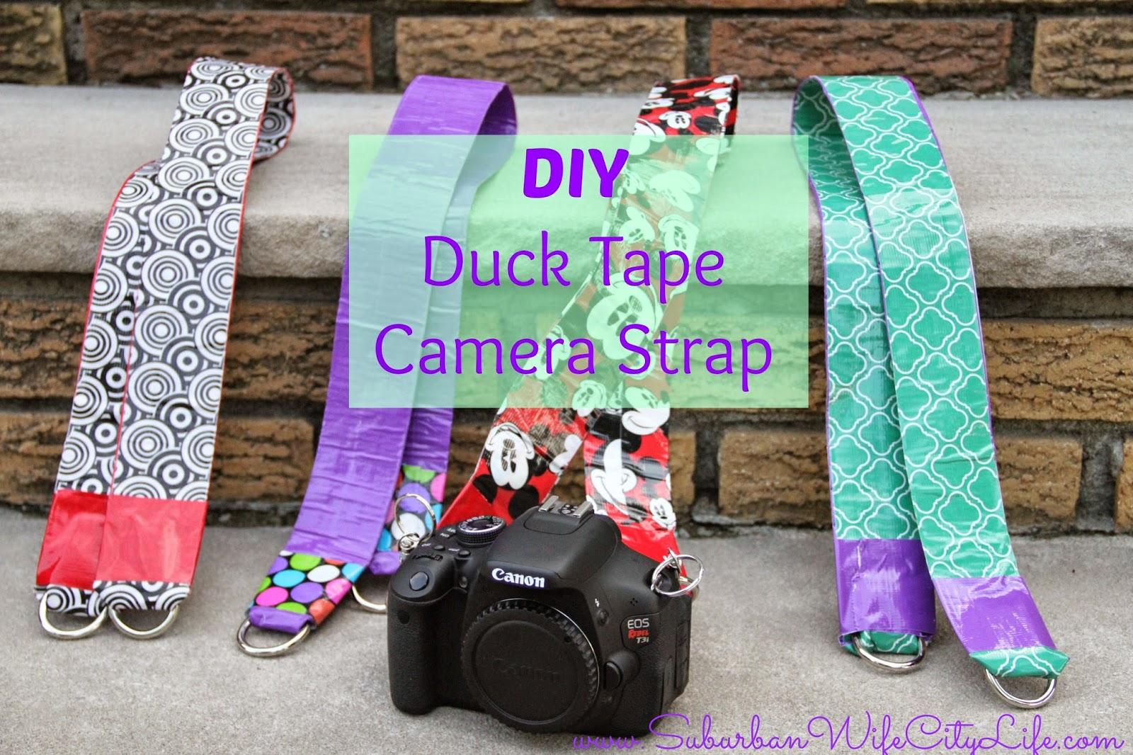 DIY Duck Tape Camera Strap
