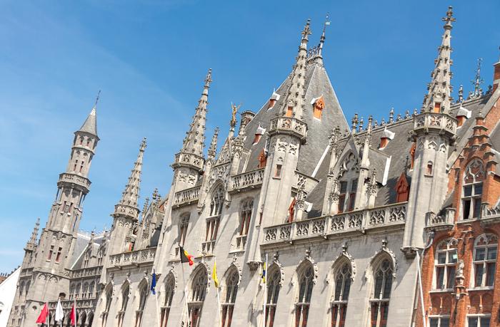 Bruges buildings