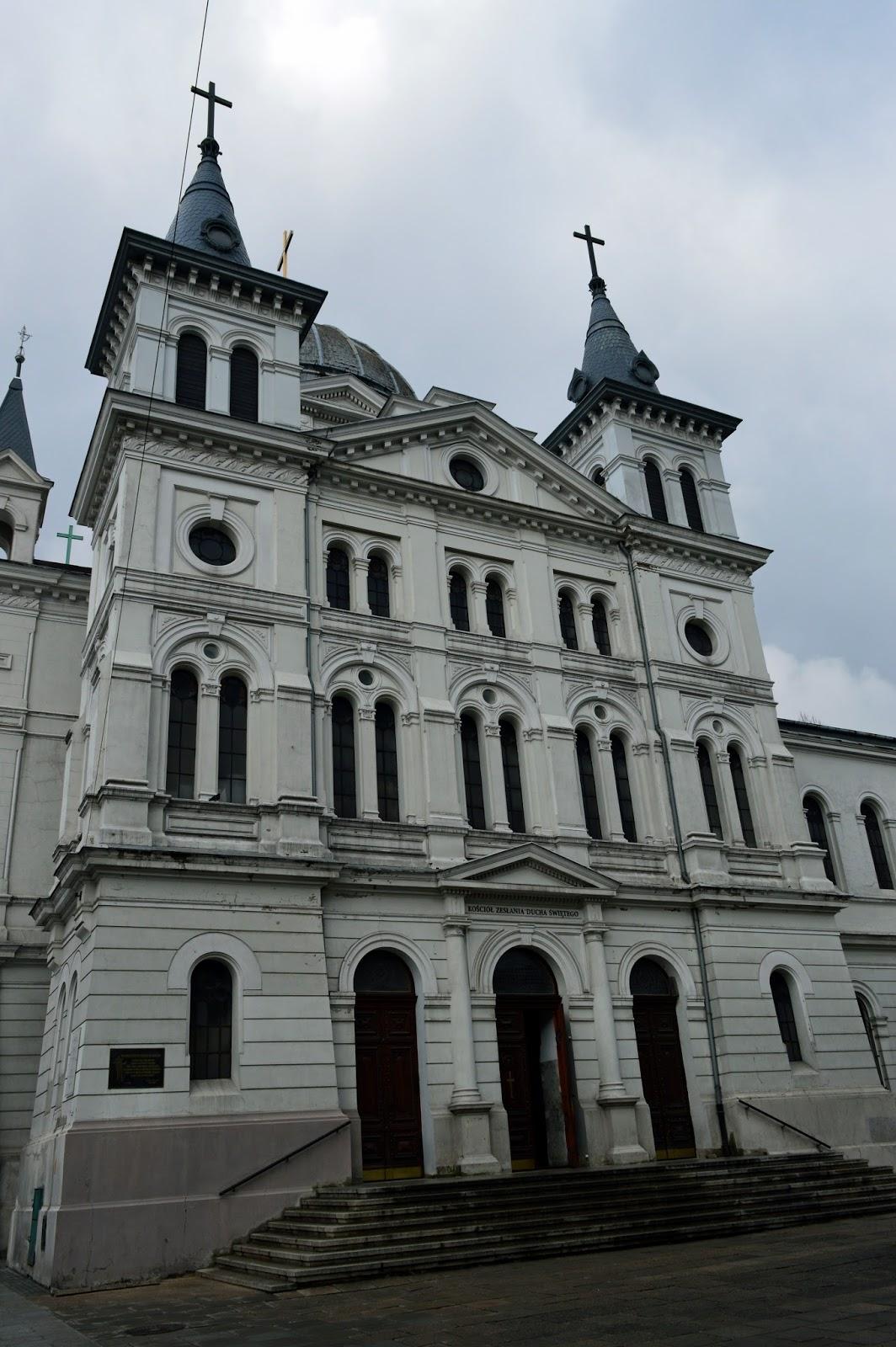 Spacerowa Łódź cz. II - Piotrkowska, Kościół Zesłania Ducha Świętego