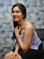 Adah Sharma photos at Sos Interview-cover-photo