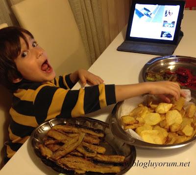 Mısır Unlu Patlıcan Kızartması10