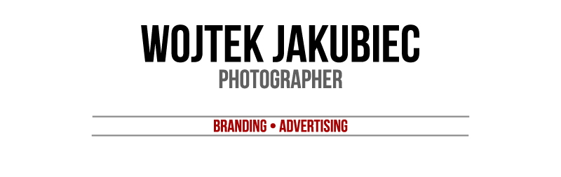 Wojtek Jakubiec branding & advertising photographer