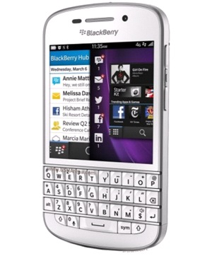 Blackberry Q10 Blanco