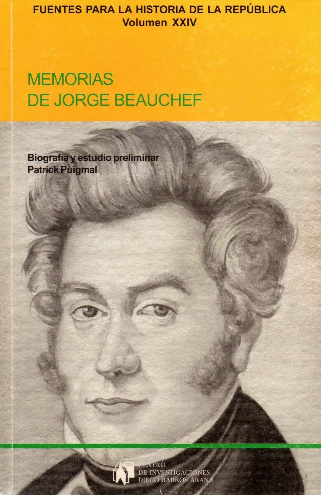 Memorias de Georges (Jorge) BEAUCHEF
