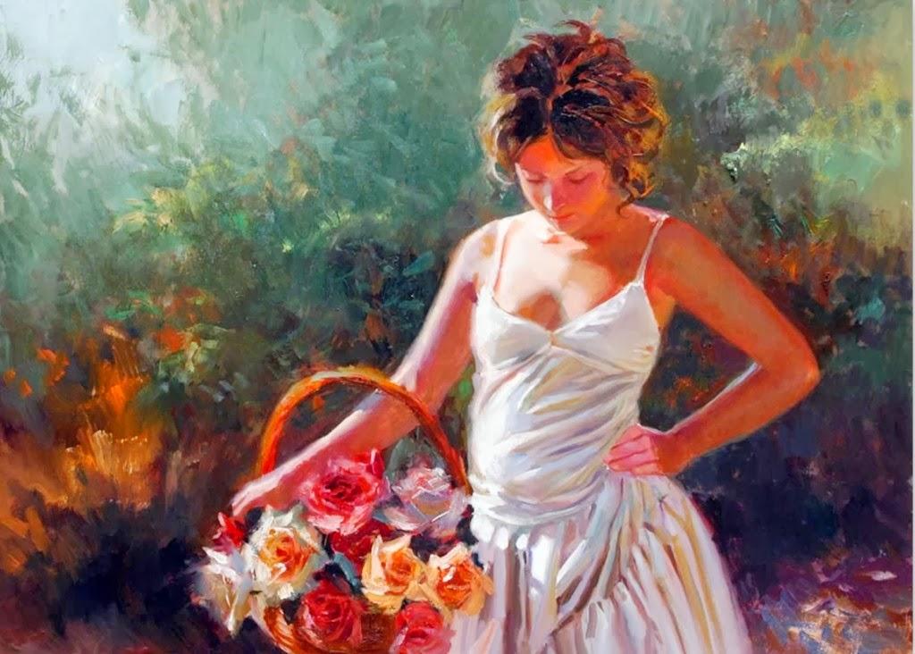 Imagenes romanticas de mujeres Taringa! - Imagenes De Mujeres Con Rosas