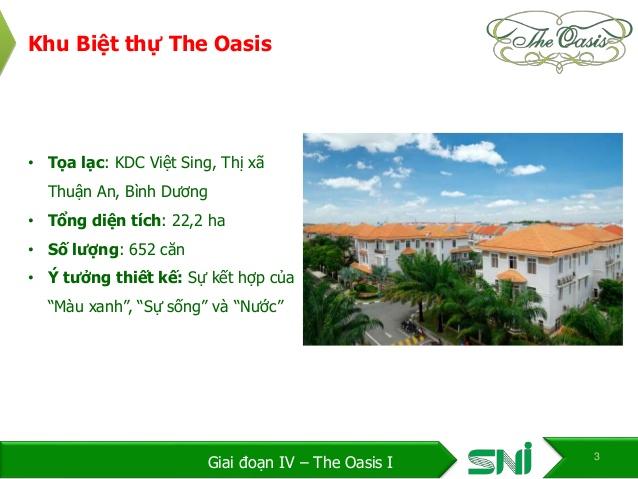 Bán Biệt Thự The Oasis Bình Dương