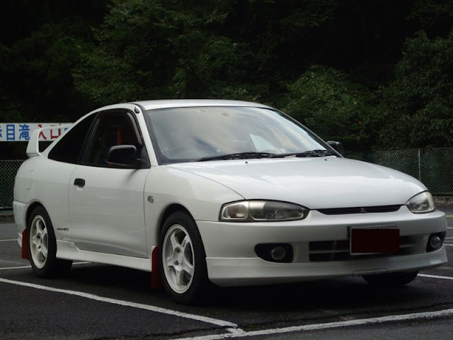 Mitsubishi Mirage Asti, CJ4A, japońskie, sportowe, coupe, JDM, MIVEC, 4G92