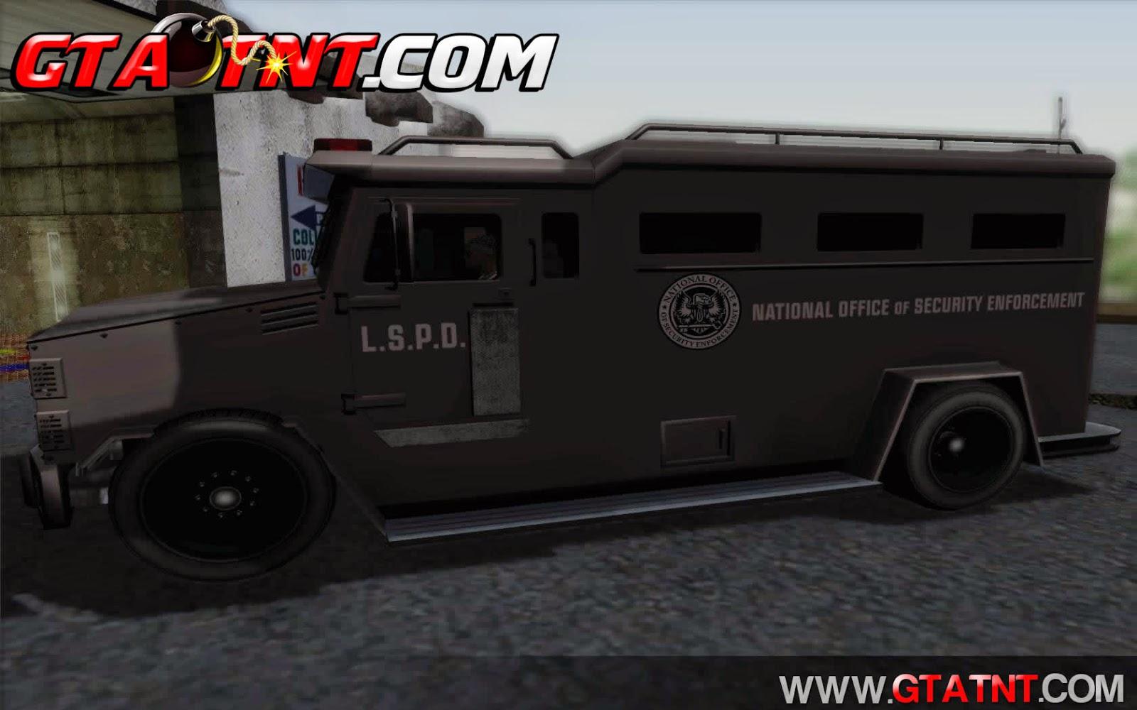 Police Riot Convertido do GTA V para GTA San Andreas