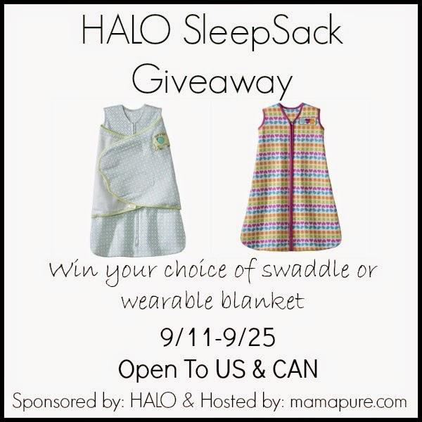 HALO SleepSack Giveaway