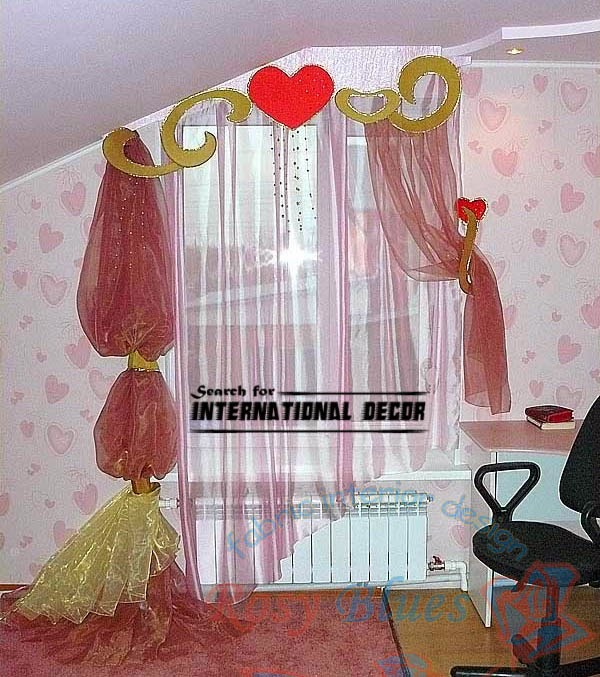 exclusive girls curtains, girls bedroom curtains