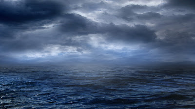 Storm at Sea Wallpaper Theme
