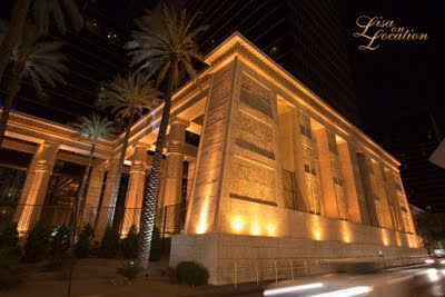 Las Vegas Nevada, Luxor casino at night, New Braunfels photographer