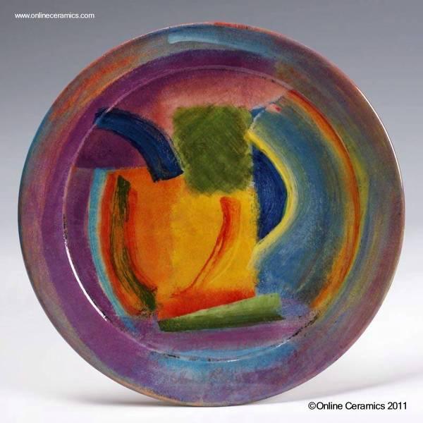 Arquitectura de casas platos de cer mica art stica decorativa - Platos de ceramica ...
