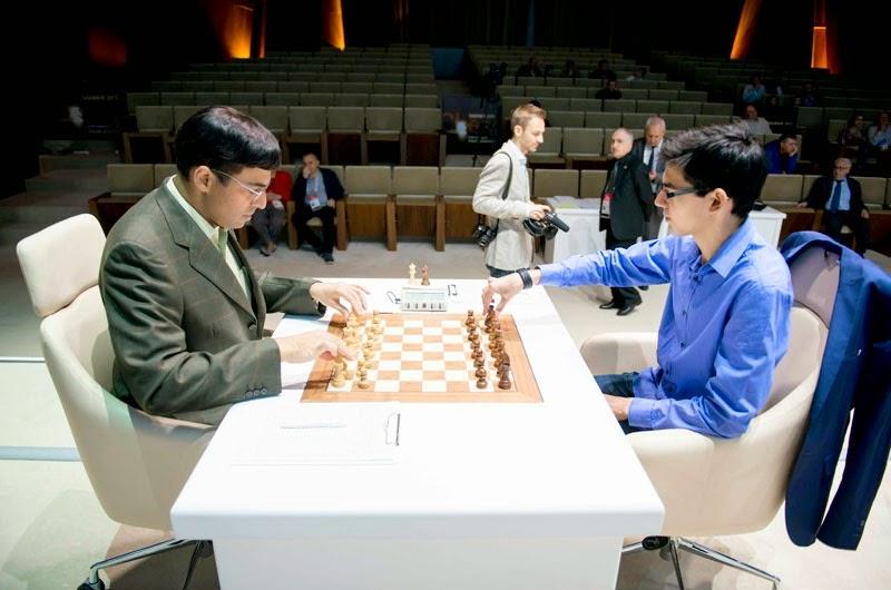 Shamkir Chess 2015. Anand - Giri