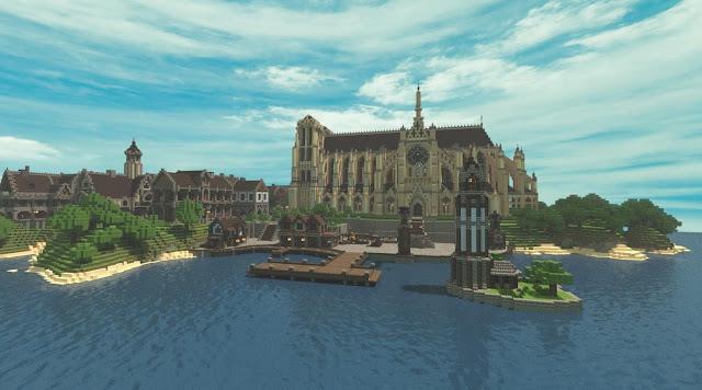 Church style castle kingdom epic build