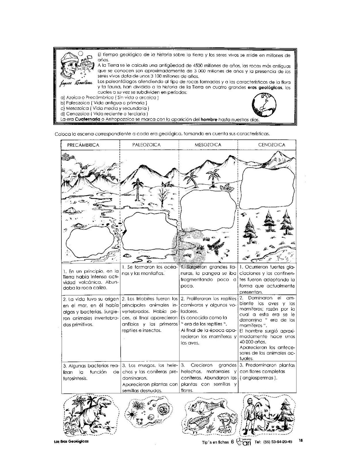 Eras geologicas para niños