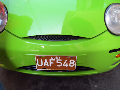Santiago de Cuba new car