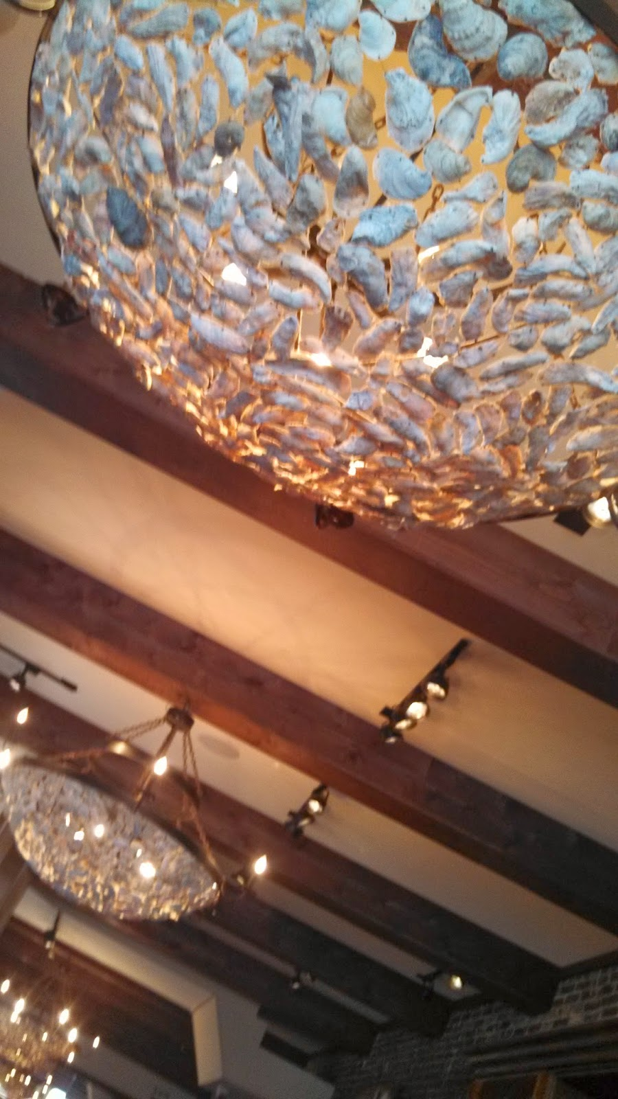 The sf oyster nerd oyster chandeliers at amen street fish raw bar arubaitofo Image collections