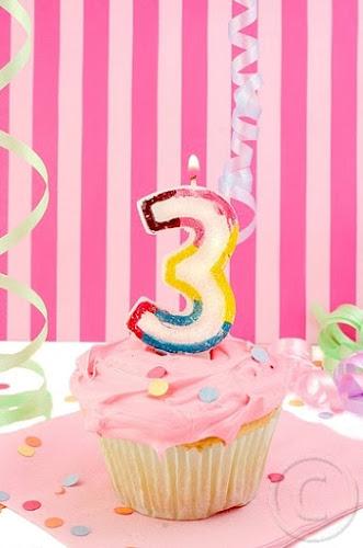 Felizes 3 Meses do Blog