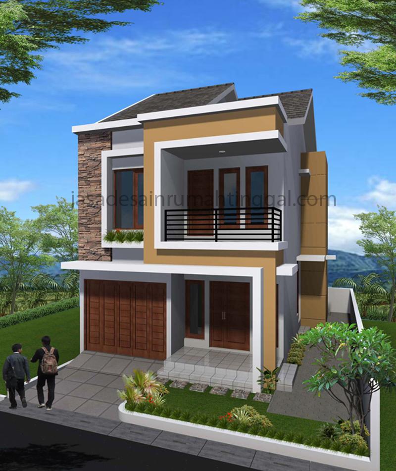 Facade Minimalis 2 Lantai2 Gambar Rumah Minimalis 2 Lantai Koleksi Terbaru