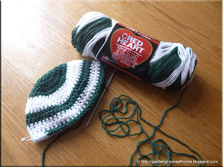 beanies in progress