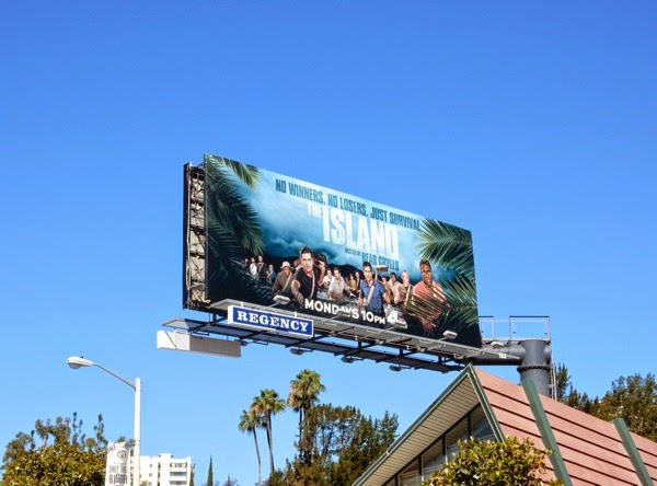 The Island TV series billboard
