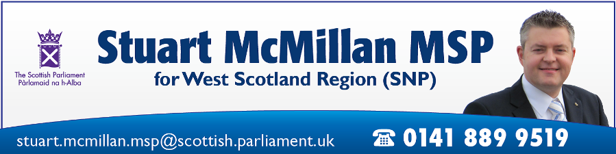 Stuart McMillan MSP