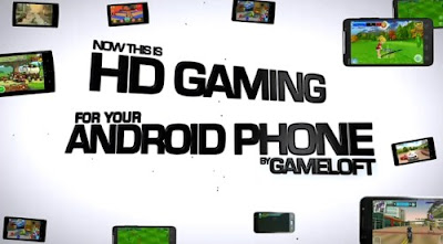 Android HD 400 Gameloft Games 2011