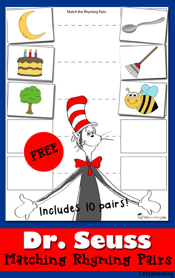Free Dr Seuss Worksheets Print