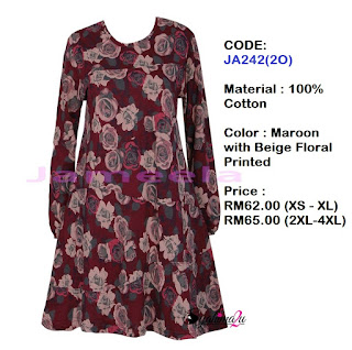 T-shirt-Muslimah-Jameela-JA242(2O)