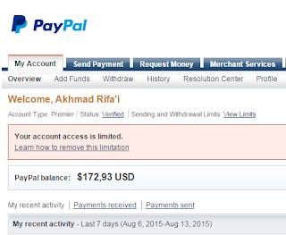 Selamat tinggal Paypal