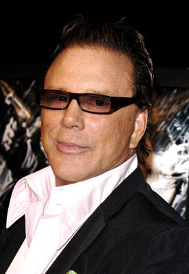 actores de tv Mickey Rourke