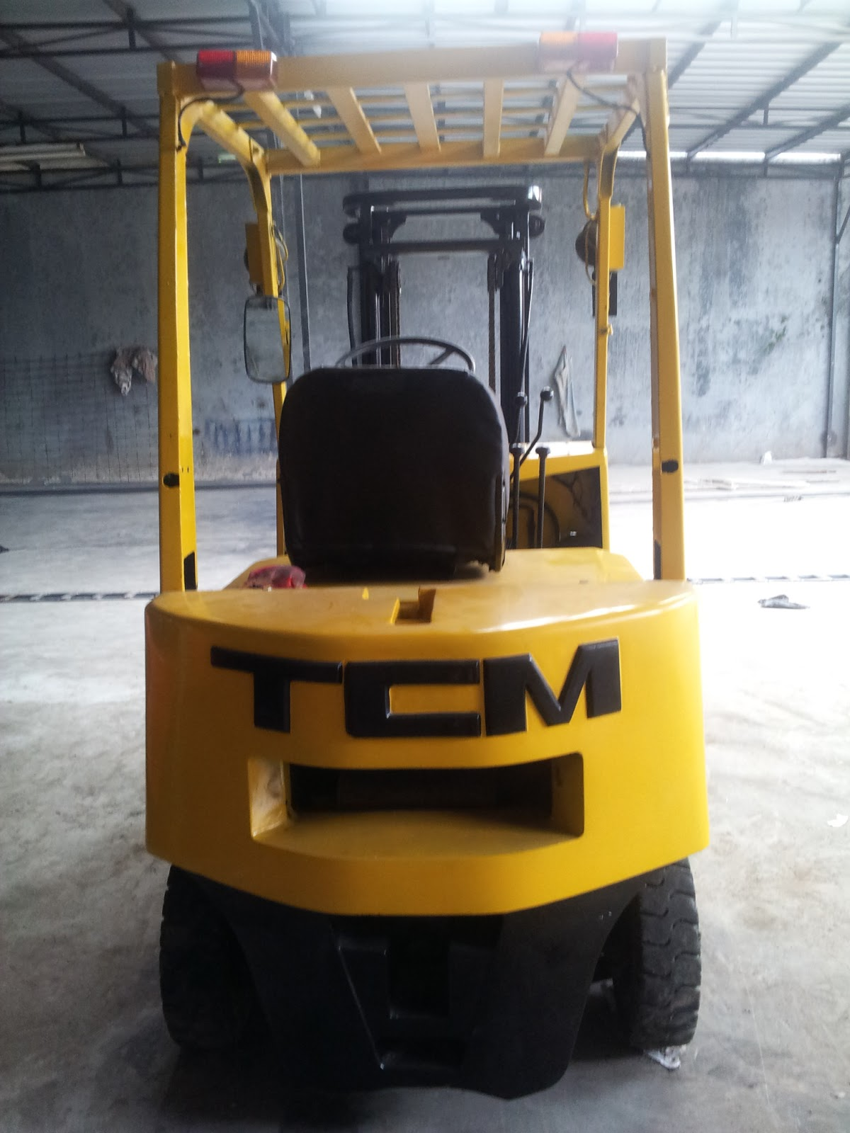 JUAL FORKLIFT TCM 15 TON Sold Out