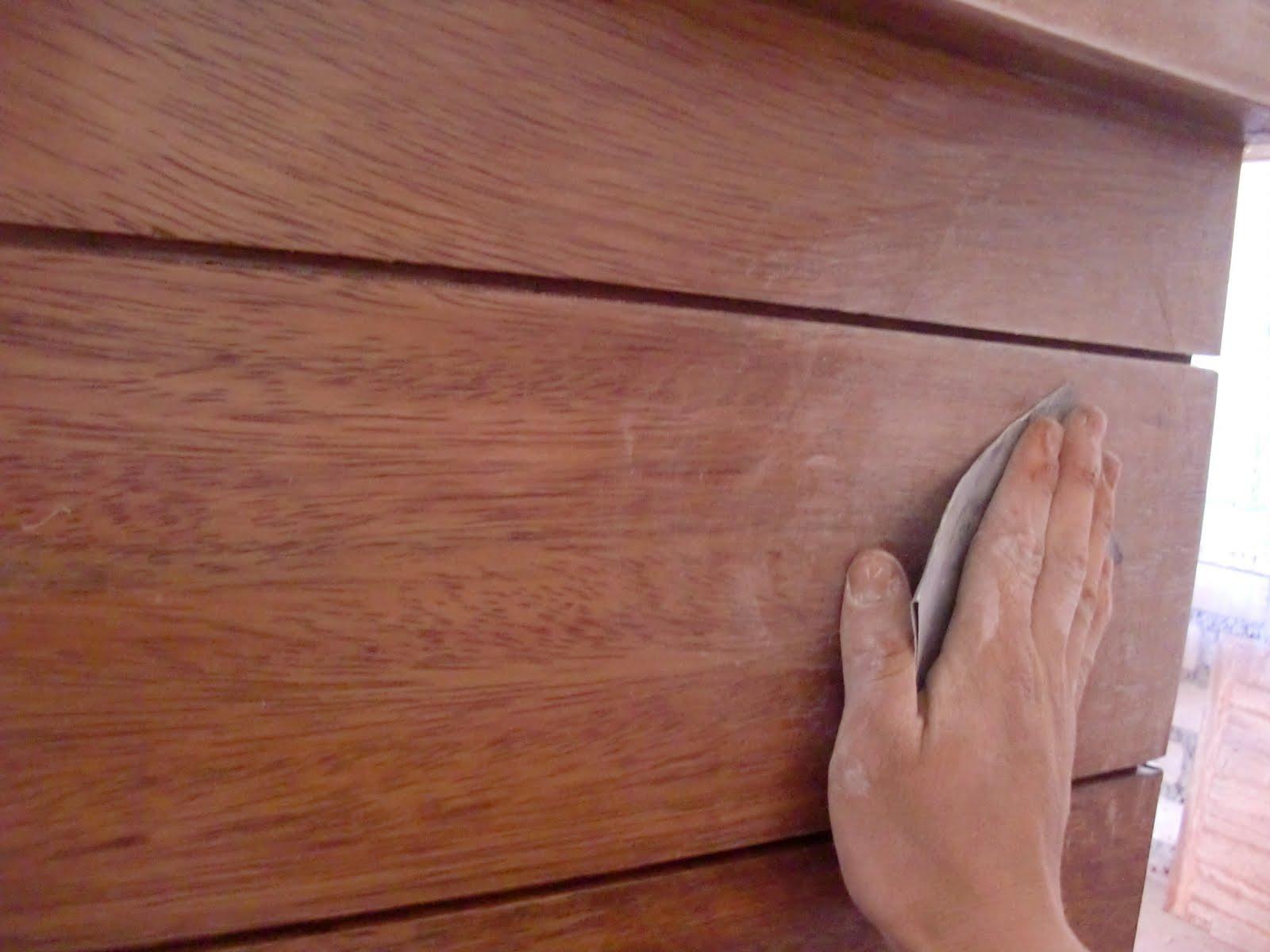 Decoraciones manualidades en madera pintar mueble paso a paso - Laca blanca para madera ...