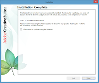 Windows 8. Free Adobe CS2 installation - Check for updates