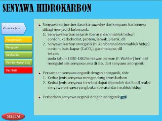 slide pengenalan senyawa hidrokarbon