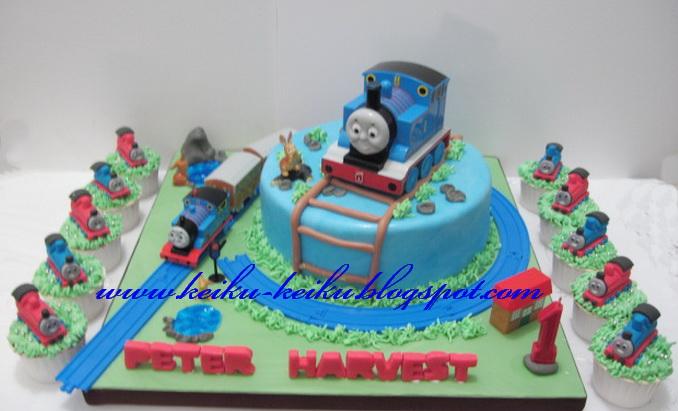 Thomas The Train Cake Kit Kat