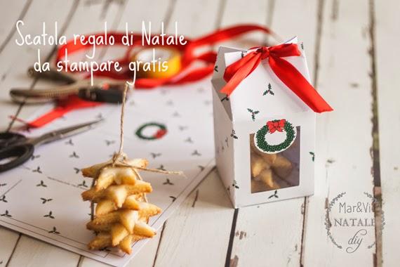 Super Mar&Vi Blog: Regali di Natale: Scatole per biscotti da stampare gratis VX29