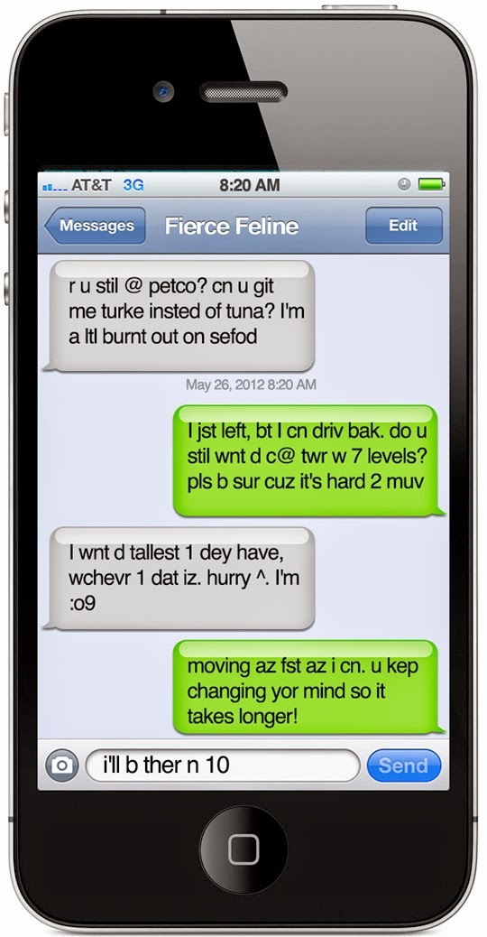 Texting ted talk