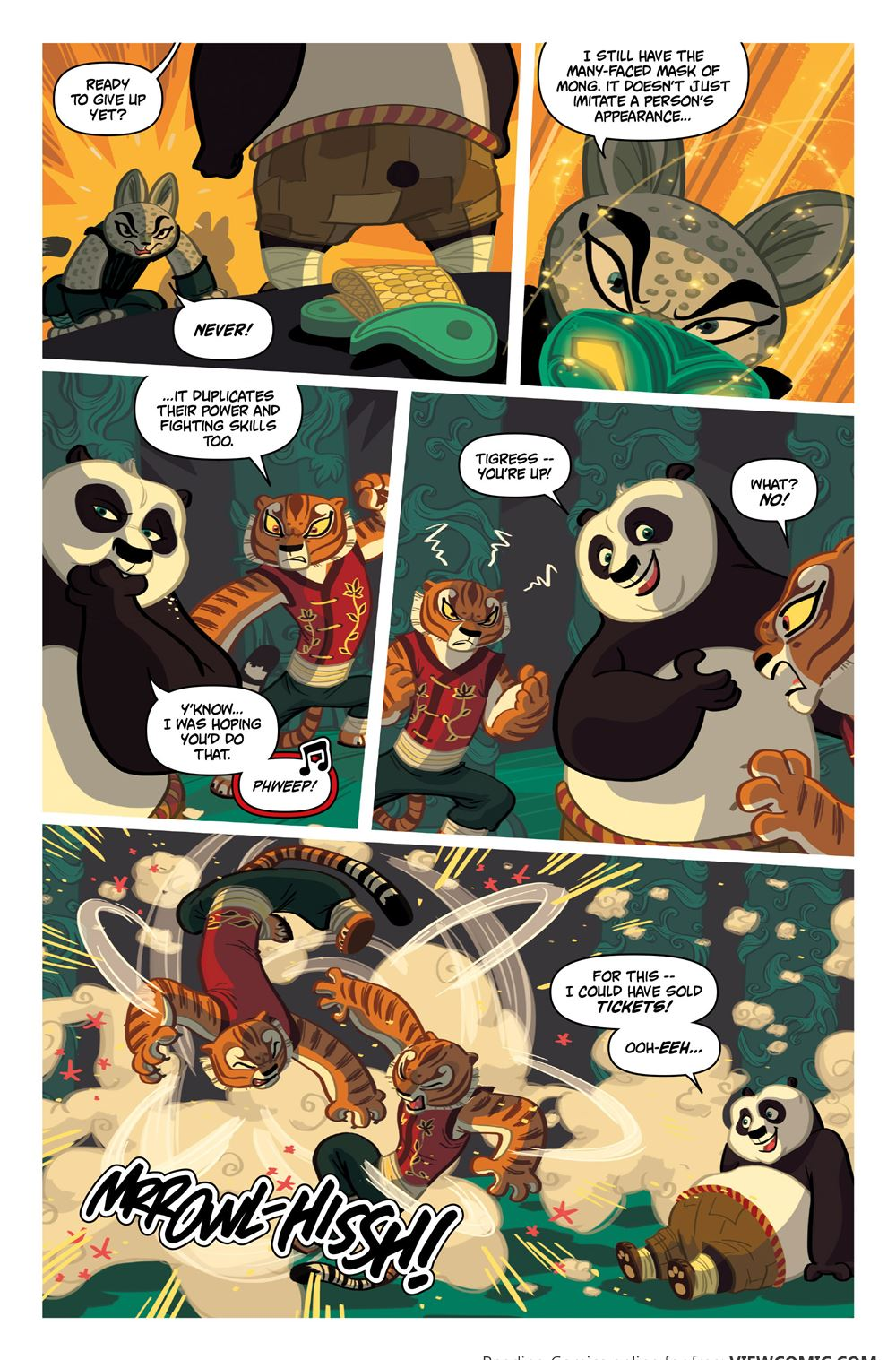 kung fu panda 004 (2016) ………………… | viewcomic reading comics online