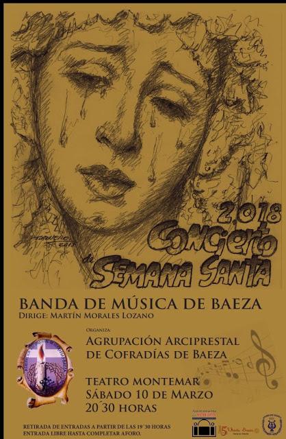 BANDA DE MÚSICA DE BAEZA - XXXVI CONCIERTO DE SEMANA SANTA 2018