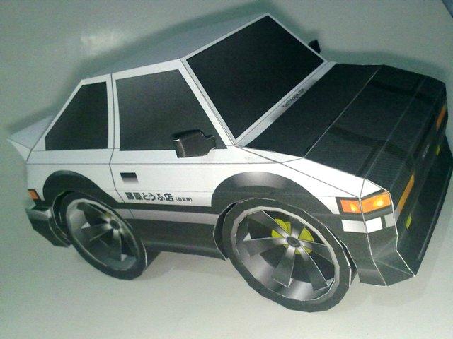 SD AE86 Trueno Papercraft