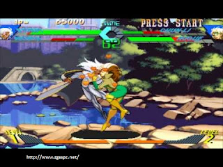 Free Download Games X-MEN VS Street Fighter PS1 ISO Full Version ZGASPC
